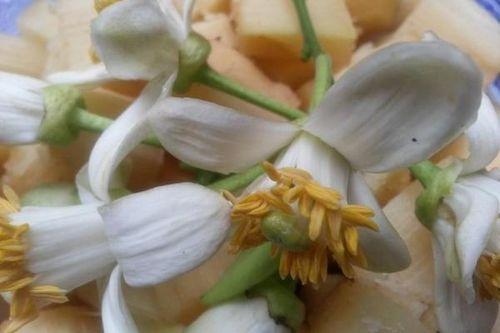 Mía ướp hoa bưởi, hoa nhài