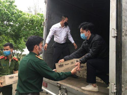 TNI-King Coffee ủng hộ quà gần 2 tỉ đồng chống dịch