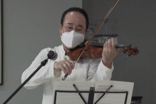 Bệnh viện tổ chức buổi hòa nhạc cho bệnh nhân Covid-19