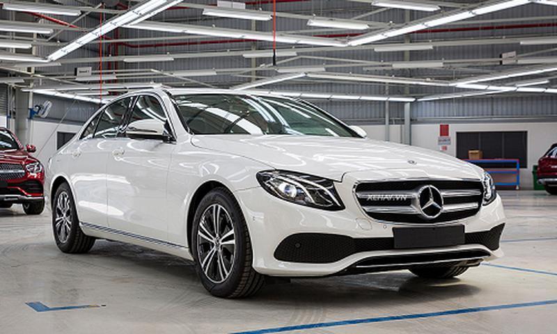 Mercedes-Benz E180 hơn 2 tỷ đồng tại Việt Nam có gì hay?