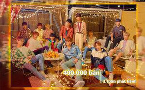 SEVENTEEN chính thức tiến vào BXH Billboard Japan Hot 100, dẫn đầu với hơn 400.000 bản chỉ trong tuần đầu tiên