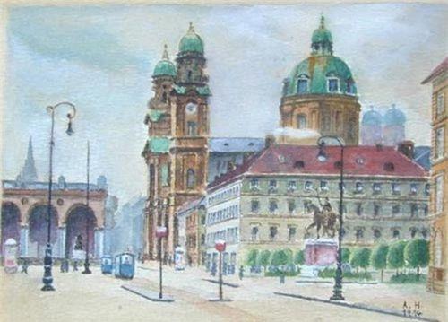 Ngỡ ngàng trước khả năng hội họa của Hitler (Phần 1)