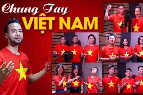 'Hoàng tử lai' tri ân tuyến đầu chống dịch bằng Chung tay Việt Nam