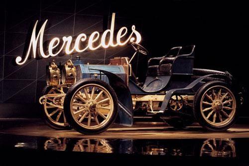 Chiếc Mercedes đầu tiên thế giới đã tròn 120 năm tuổi