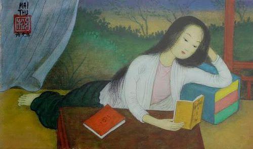 Thiếu nữ thế kỷ 18 đọc sách khác gì cô gái đọc smartphone thời nay?