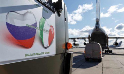 Nga bị nghi có động cơ khác khi viện trợ cho Italy chống dịch