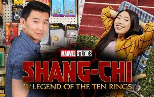 Shang-Chi: Lộ diện tạo hình của Simu Liu và Awkwafina