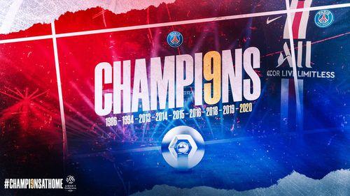 Paris Saint-Germain vô địch Ligue 1