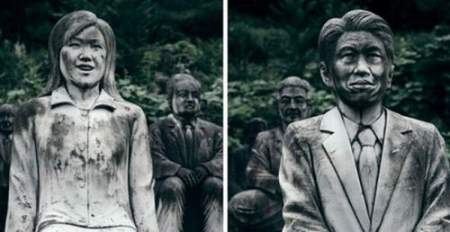 Ám ảnh với gần ngàn bức tượng kinh dị tại công viên bỏ hoang ở Nhật Bản