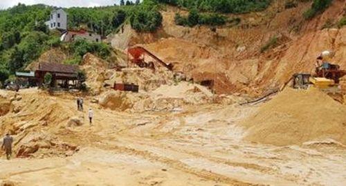 Nhiều sai phạm tại mỏ khai thác khoáng sản ở Bảo Lộc