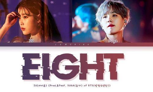 Sao Hàn 24H: Không ngoài dự đoán, 'Eight' của IU và SUGA công phá mọi bảng xếp hạng