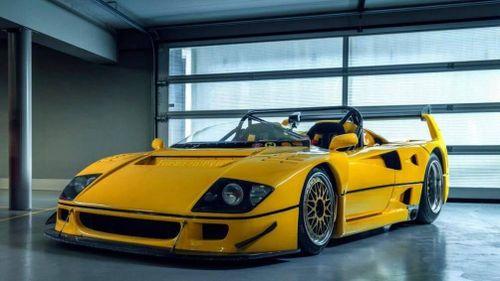 Chiêm ngưỡng siêu xe Ferrari F40 LM Barchetta độc nhất vô nhị trên thế giới