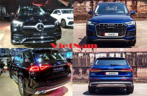 So sánh Audi Q7 55 TFSI và Mercedes-Benz GLE 450 4Matic?