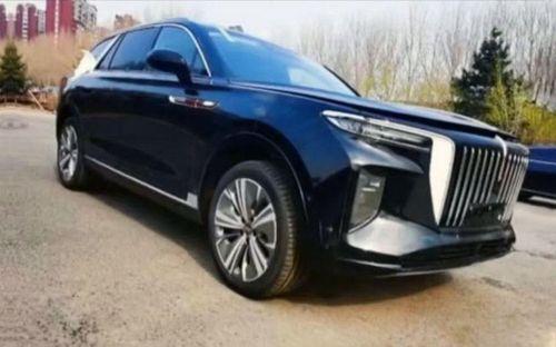 SUV chạy điện của Hongqi lộ diện phiên bản thương mại, thiết kế liên tưởng tới BMW X7