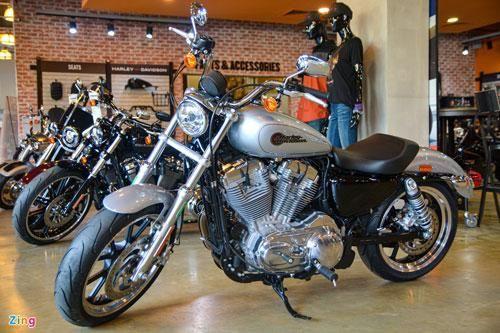 Cận cảnh xe Harley-Davidson rẻ nhất tại Việt Nam