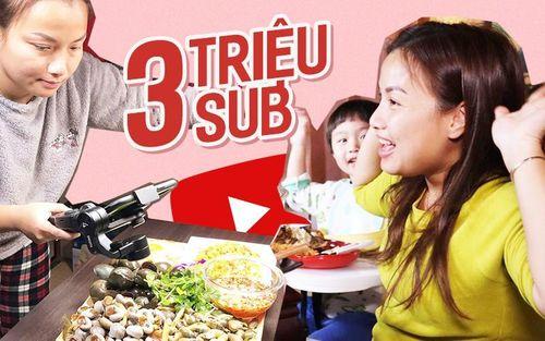 Quỳnh Trần JP phút chốc thành 'đại gia' khi kênh Youtube vừa chạm mốc 3 triệu sub