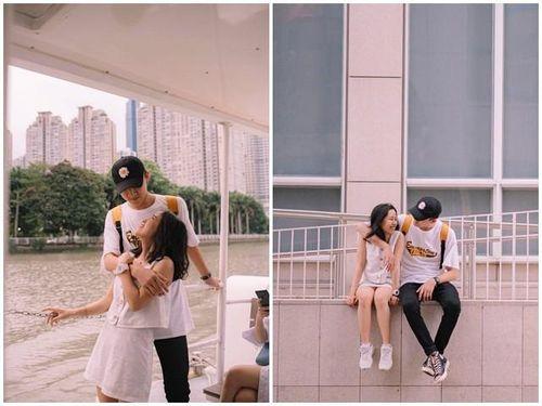 Cặp 'đũa lệch' đáng yêu của ĐH Đại Việt: Chàng hơn nàng 31cm, luôn gây sự chú ý