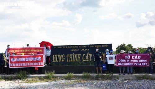 Khách hàng mua dự án Hưng Thịnh Cát Tường lại 'vác đơn' đến UBND Long An cầu cứu