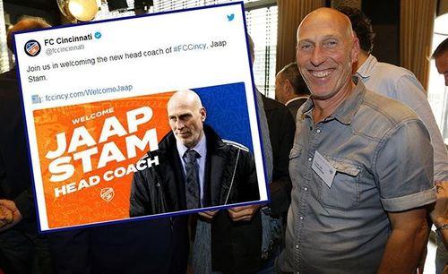 Jaap Stam làm HLV trưởng của Cincinnati và sai lầm của truyền thông