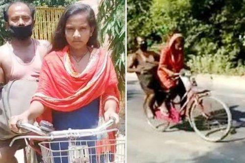 Nghị lực phi thường của cô bé 15 tuổi đạp xe hơn 1.200 km, chở cha bị thương về quê