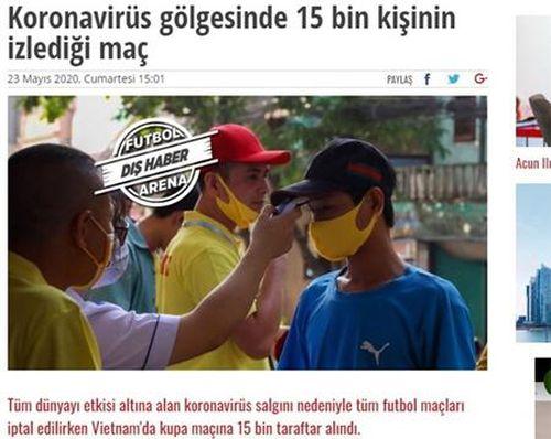 Truyền thông quốc tế nói gì trong ngày bóng đá Việt Nam trở lại?