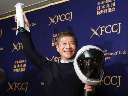 Tỉ phú Nhật Bản chi tiền đưa loạt nghệ sĩ lên Mặt trăng là ai?