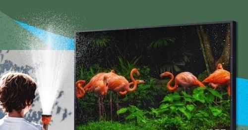 Samsung giới thiệu TV 4K để ngoài trời: Chống chói, chống nước tiêu chuẩn IP55