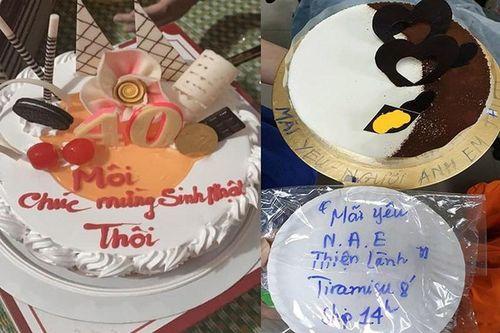 Nhận bánh sinh nhật, người chủ 'rơi lệ' vì lời nhắn chúc mừng