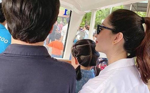 Chuyện showbiz: Hoa hậu Đặng Thu Thảo tái xuất xinh đẹp sau 2 tuần sinh con