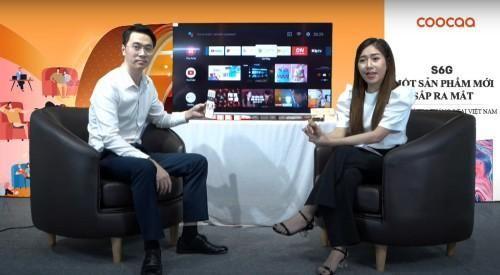 TV Coocaa S6G phá kỷ lục bán hàng online với 1000 sản phẩm tại livestream của Lazada Việt Nam