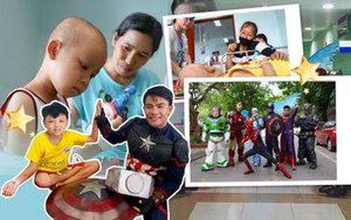 Những 'siêu anh hùng' nhí đầu trọc trong cuộc chiến chống ung thư và phía sau câu chuyện đặc biệt về chiếc điện thoại