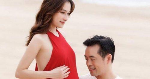 Sau Hồ Ngọc Hà, Dương Khắc Linh khoe vợ kém 13 tuổi mang song thai
