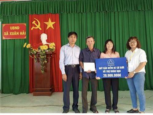 Hỗ trợ nhân đạo các gia đình nạn nhân tại Nghệ An và Ninh Thuận
