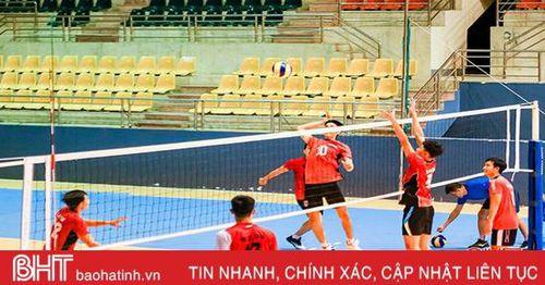 Giải Bóng chuyền vô địch quốc gia: Hà Tĩnh ra quân gặp Long An