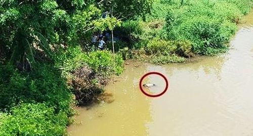 Phát hiện thi thể một người đàn ông trôi trên Sông Bé