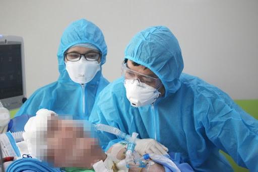 Phổi của bệnh nhân 91 hồi phục 60%