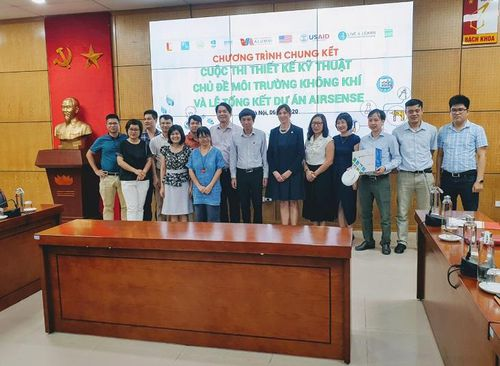 Chung kết cuộc thi 'Thiết kế kỹ thuật chủ đề Môi trường không khí – 2019'