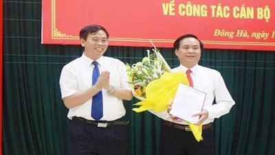 Bí thư Thành ủy Đông Hà được bầu giữ chức vụ Phó Bí thư Tỉnh ủy Quảng Trị