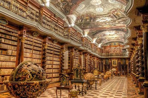 'Báu vật vô giá' của người Séc: Thư viện Quốc gia đẹp nhất thế giới