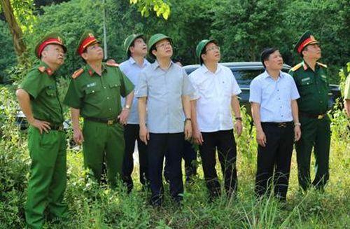 Đồng chí Phó Chủ tịch UBND tỉnh kiểm tra công tác phòng chống cháy rừng tại huyện Hoa Lư