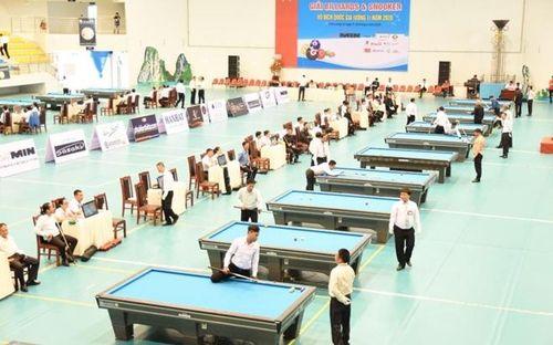 Khai mạc Giải Billiards và Snooker vô địch quốc gia vòng 1 năm 2020