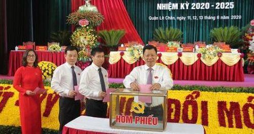 Hải Phòng: Đại hội Đảng bộ quận Lê Chân nhiệm kỳ 2020-2025