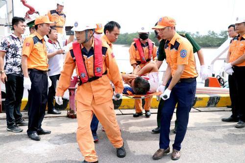 Tìm thấy tàu cá TH 90282 TS bị đâm chìm tại Hải Phòng