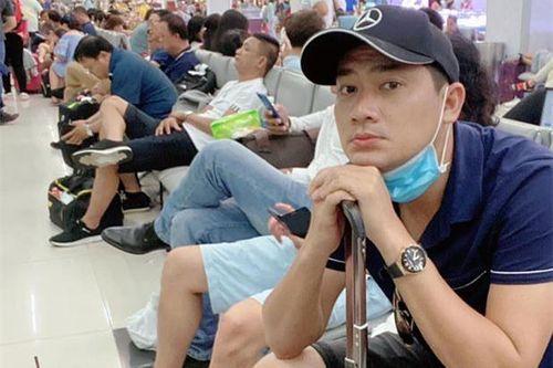 Minh Luân hủy suất diễn vì mắc kẹt ở sân bay