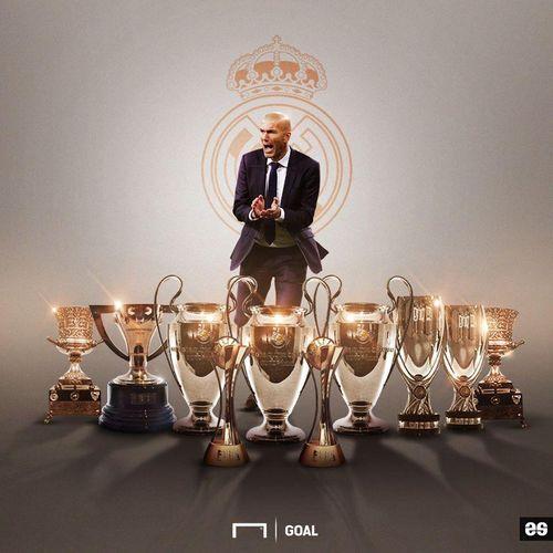 Real đại thắng, Zidane đi vào lịch sử sau trận đấu thứ 200