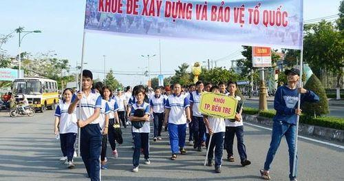 Tổ chức Ngày chạy Olympic vì sức khỏe toàn dân trên địa bàn tỉnh Bến Tre năm 2020