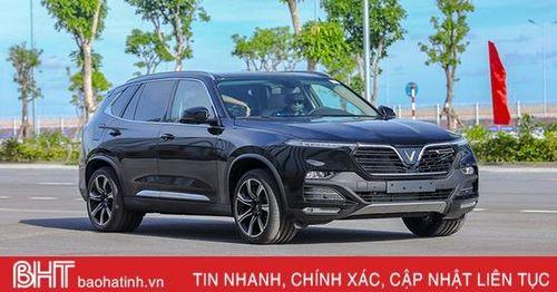 VinFast Lux SA vượt mặt Mazda CX-8 về doanh số bán xe tháng 5/2020