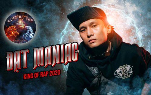 HOT: 'Ma tốc độ' Datmaniac xác nhận ngồi ghế nóng King Of Rap 2020