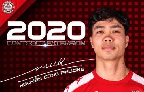 Công Phượng khoác áo CLB TP.HCM đến hết V-League 2020