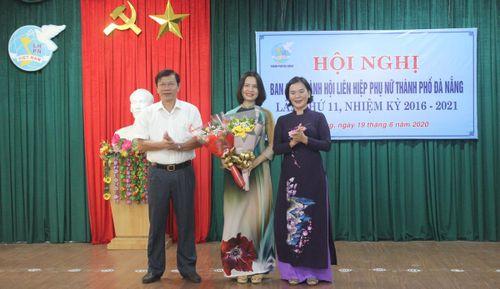 Bà Hoàng Thị Thu Hương được bầu làm Chủ tịch Hội LHPN TP Đà Nẵng